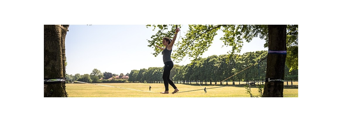Slackline kit created and tested by real slackliners | Spider Slacklines